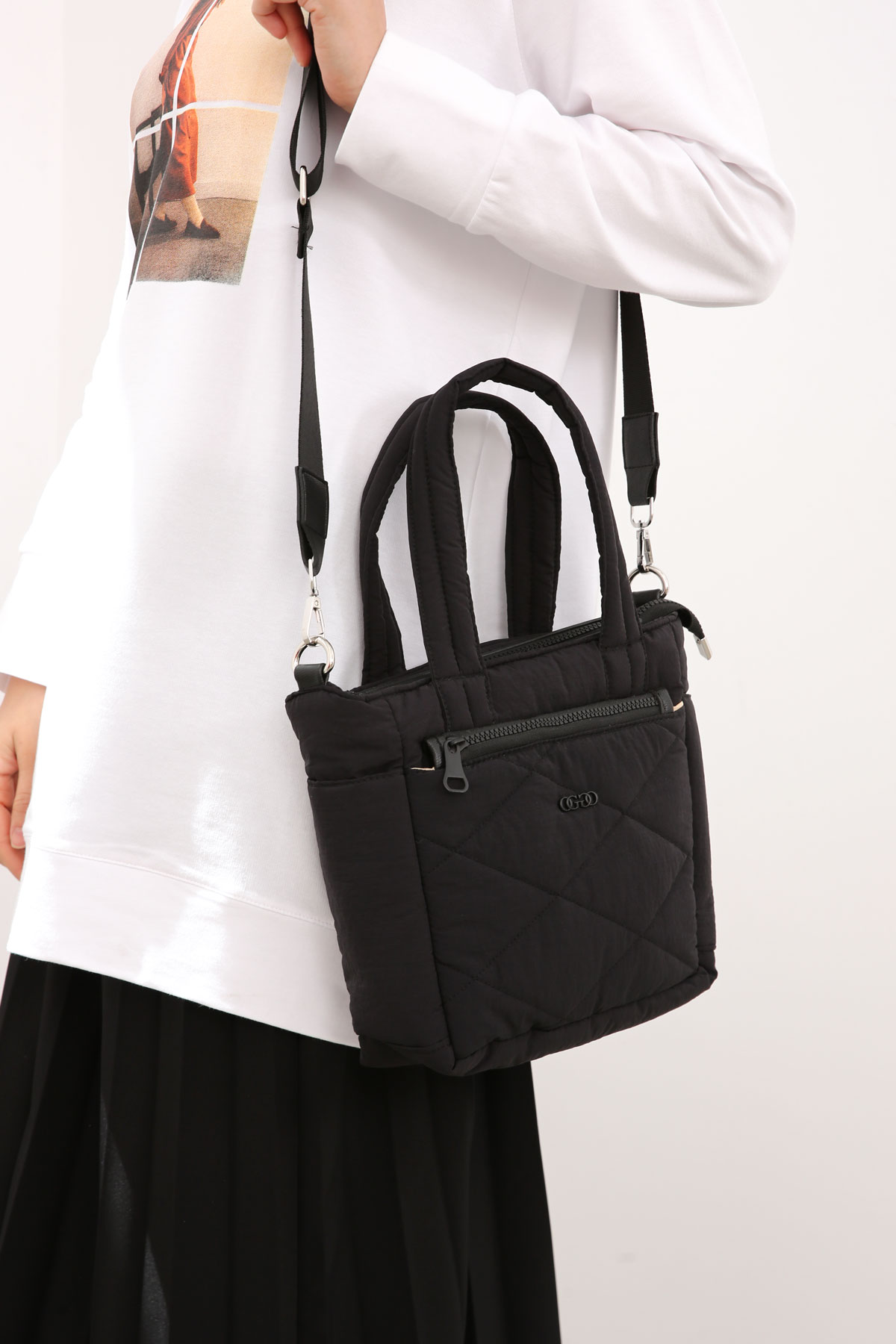 Puffy Large Quilted Tote