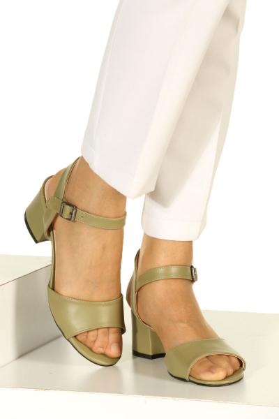 Kalın Topuk Ayakkabı