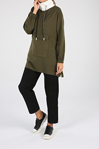 Kangaroo Pocket Knitwear Tunic