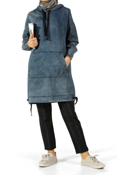 Denim Tunik Modelleri
