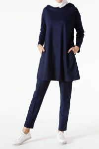 HOODED HIJAB SUIT WITH PANTS