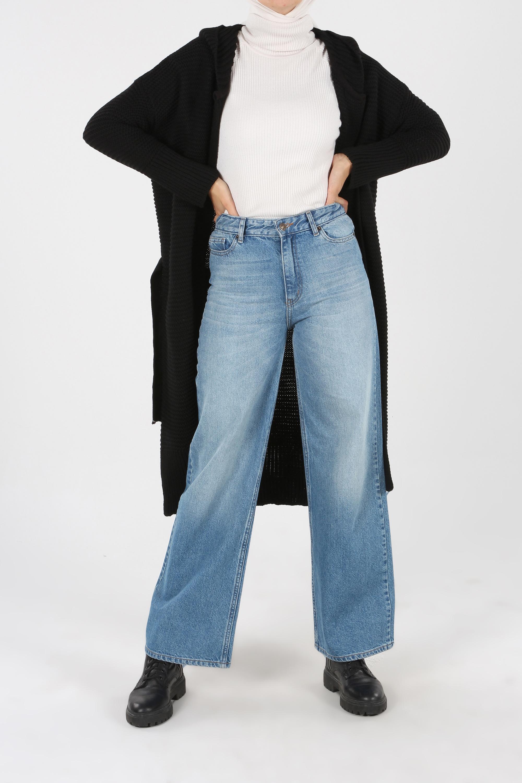 Belted Hooded Comfy Cardigan
