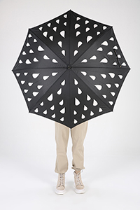 Katlanır Desenli Baston Şemsiye