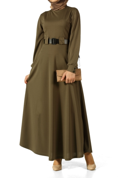 Kemerli Elbise