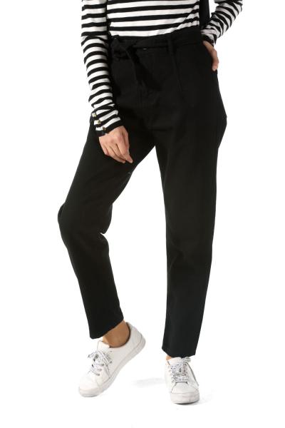 Kemerli Mom Jean Kot Pantolon