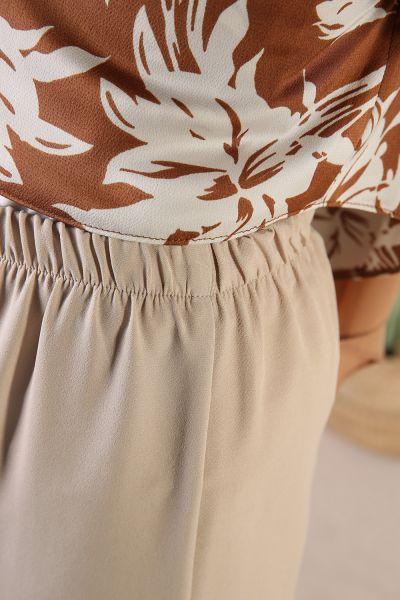 Kemerli Pantolonlu İkili Takım