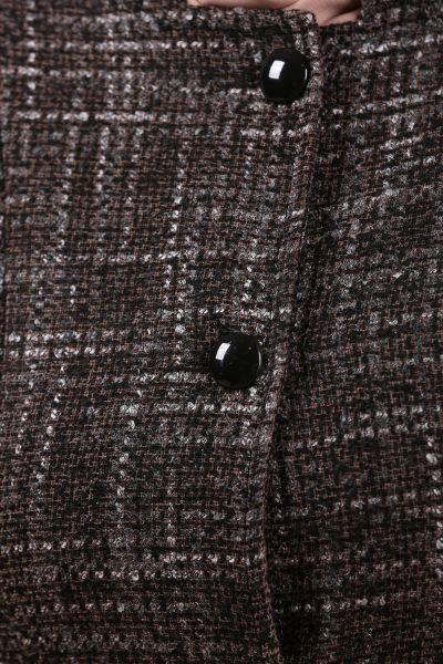 Düğmeli Kemerli Pardesü