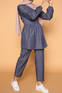 BELTED HIJAB SUIT