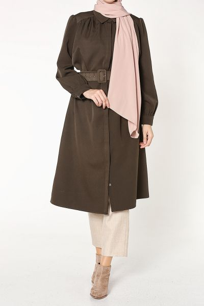 BELTED LONG TUNIC