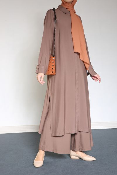 HIDDEN BUTTON HIJAB SUIT