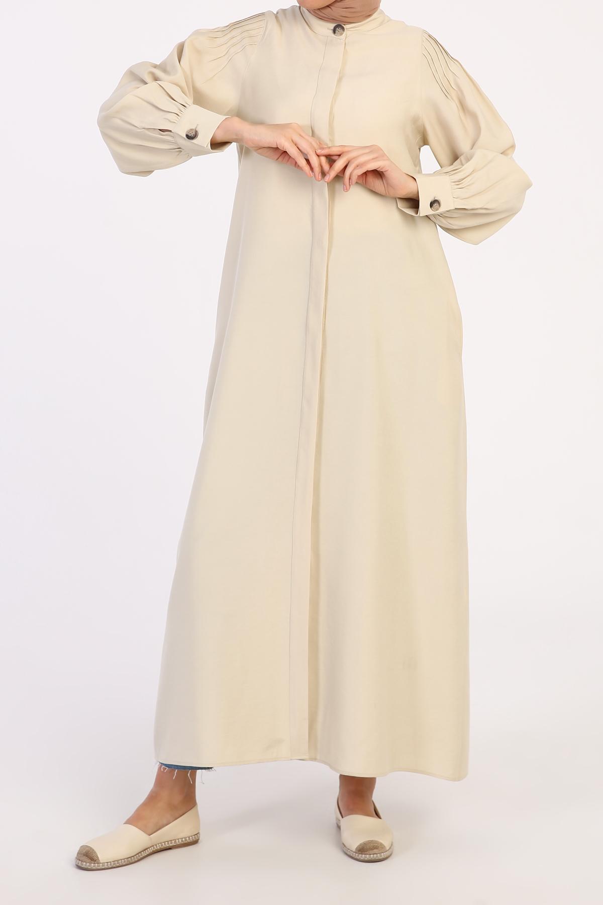 Pleate Detailed Abaya