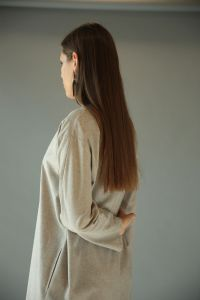 Bike Neck Pocket Buttoned Tunic