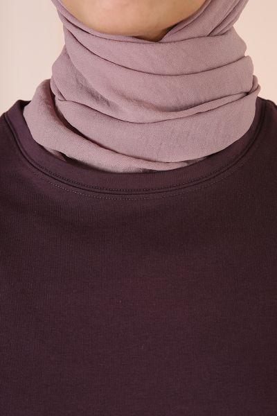 Kolları Gömlek Garnili Tunik
