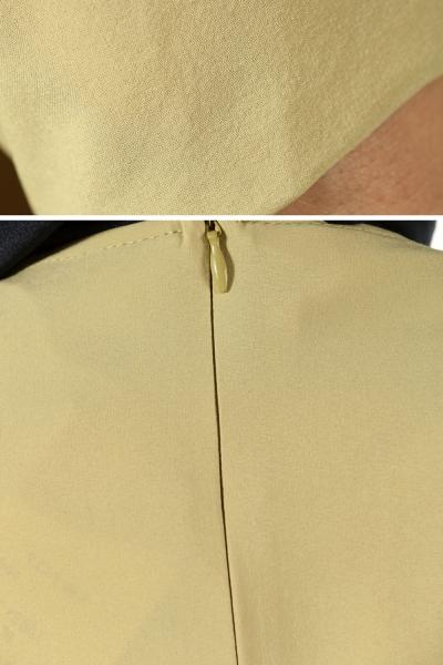 Zipper Detail Poncho