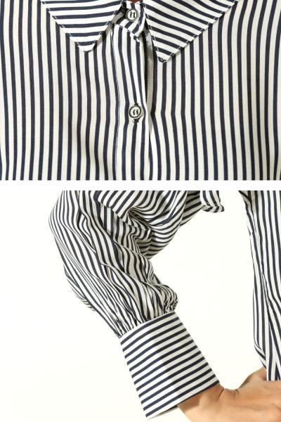 Kolu Fırfırlı Gömlek