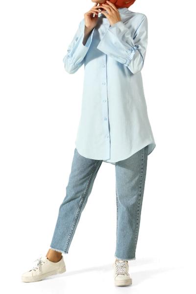 Kolu Volanlı Gömlek