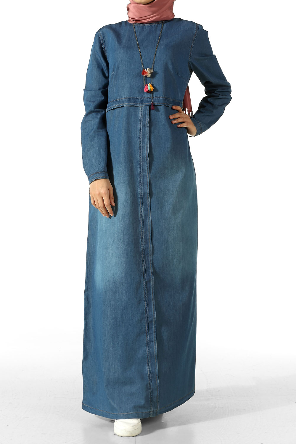 accd5c6a9b Middle Blue Jeans Dress - 2177