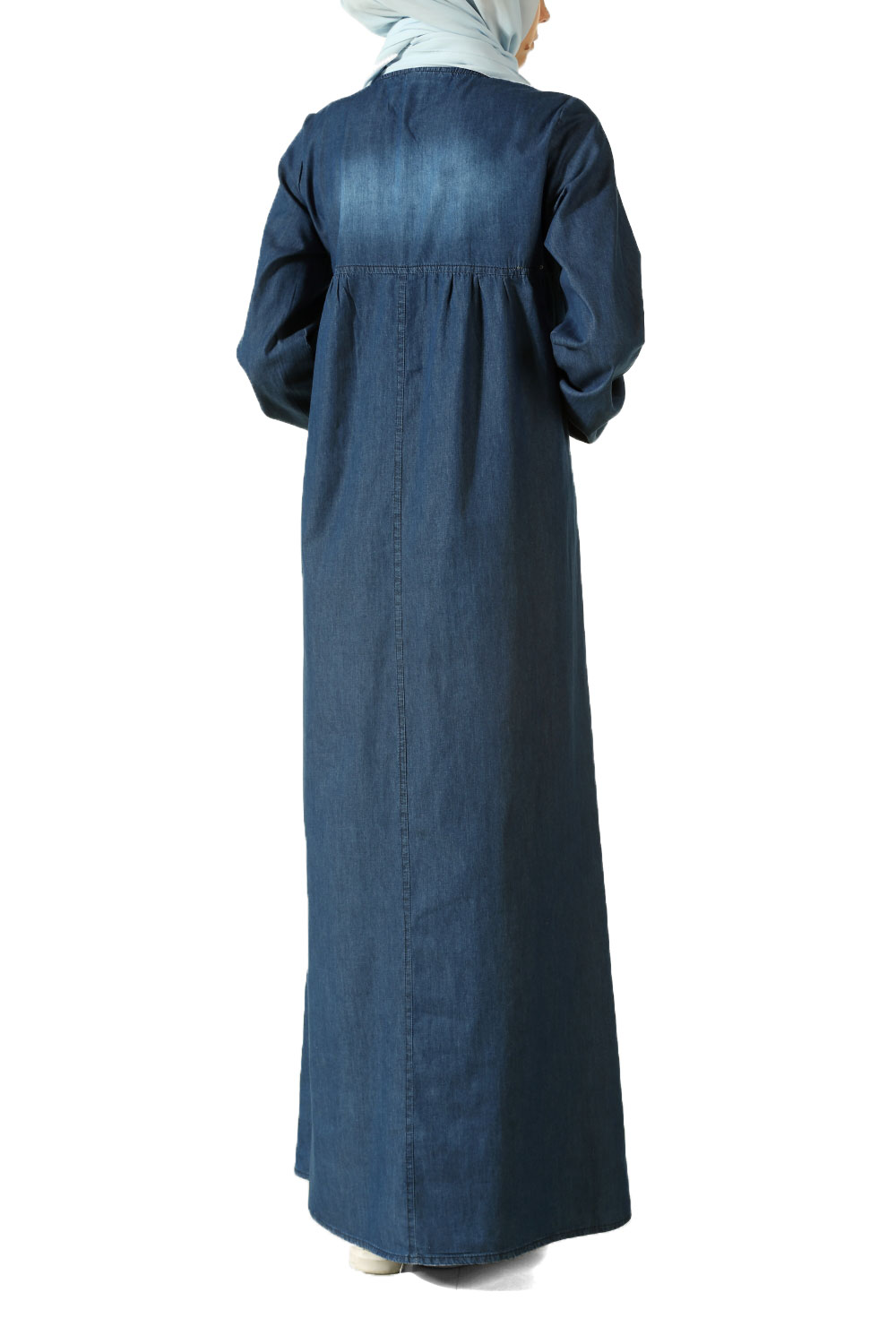 Dark Blue Kot Dress 175 025 Allday