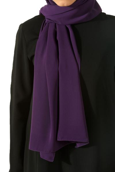 crepe chiffon shawl
