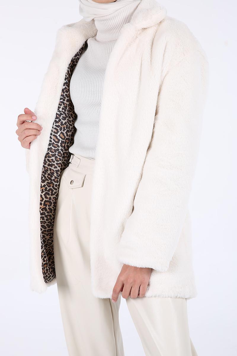 Hijab Furry Jacket