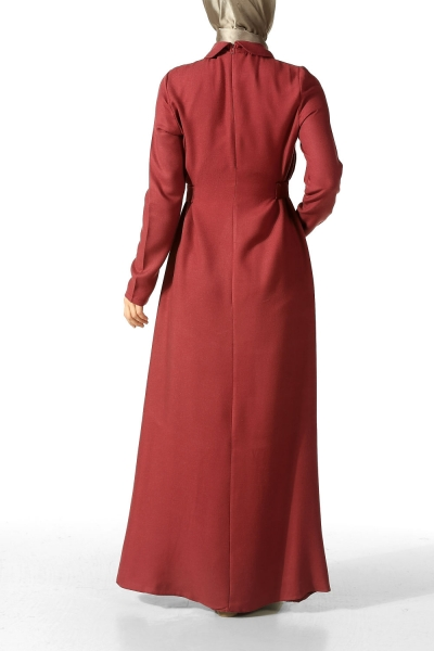 Viscose Belted Dress