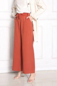 Belted Wide Leg Hijab Pants