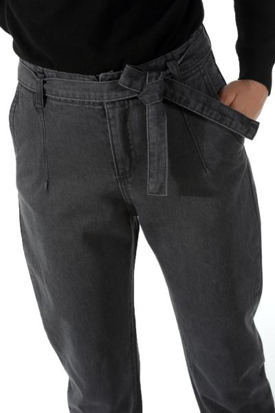 Kuşaklı Boyfriend Kot Pantolon