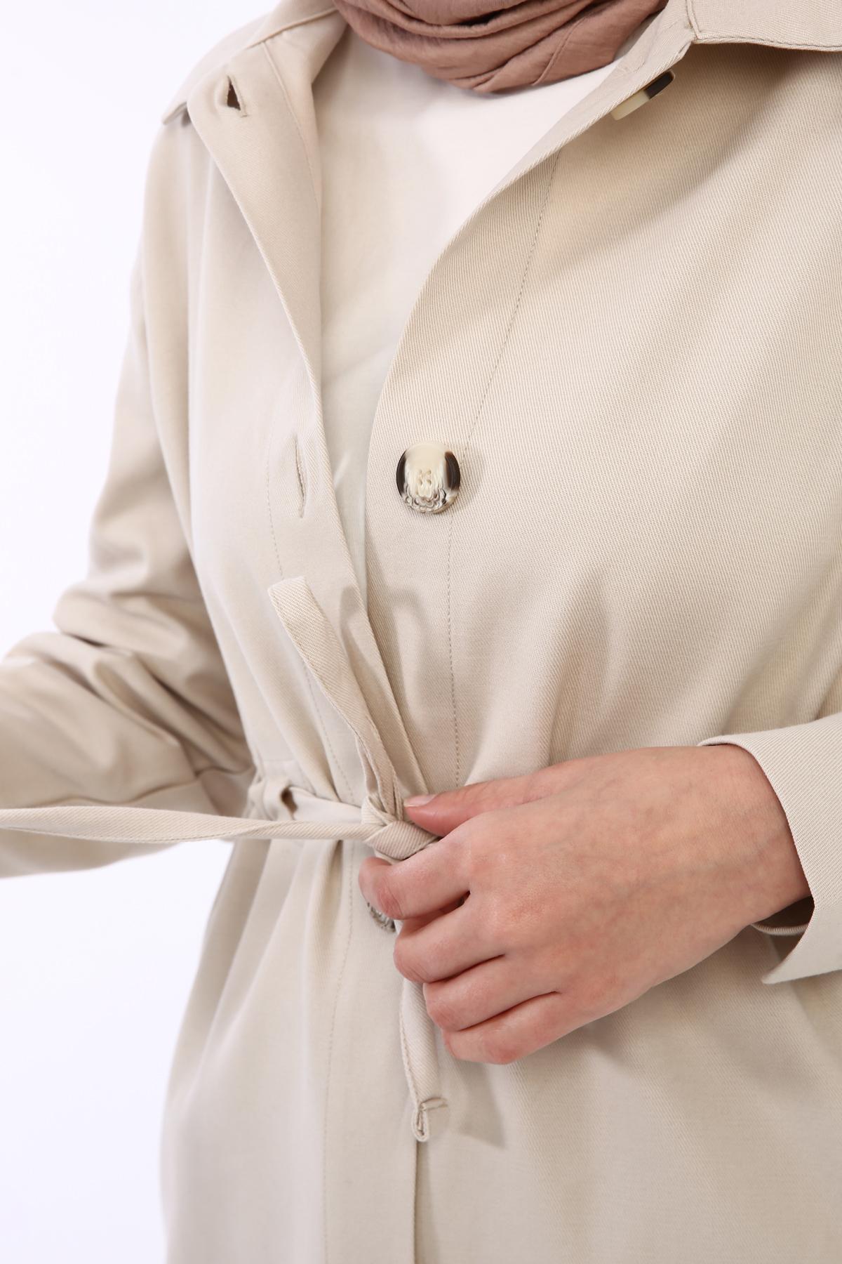 Belted Modest Jacket