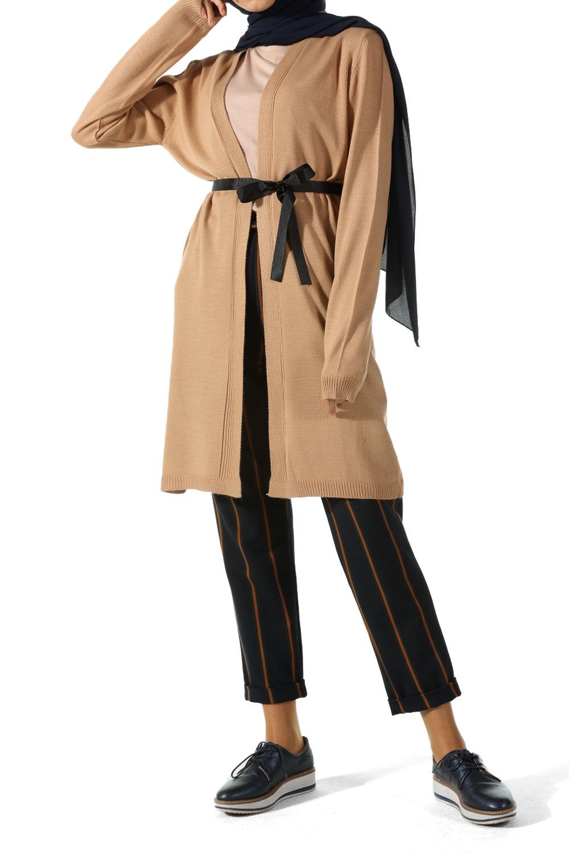 2c49ebe9f3 Camel belted cardigan allday jpg 1000x1500 Belted cardigan