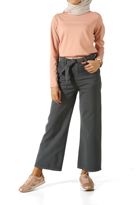 Kuşaklı Pantolon Modelleri