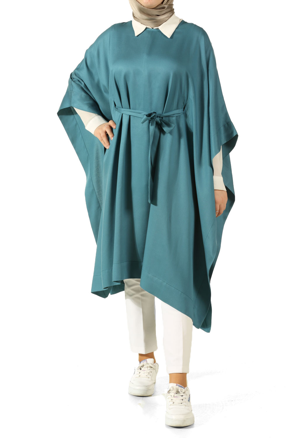 Belted Poncho