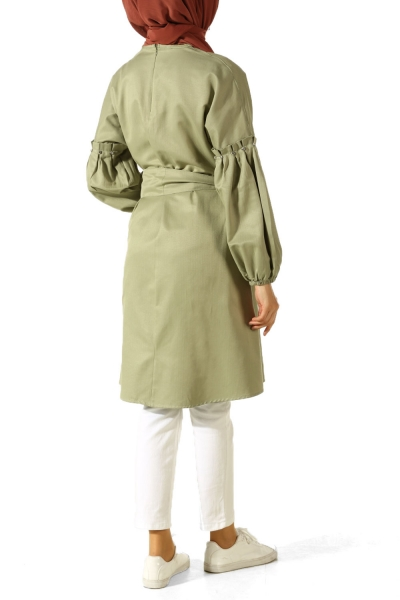 Belted T-Sleeve Tunic