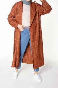 Belted Pocket Trench Coat