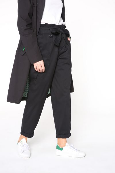 BELTED HIGH WAIST HIJAB PANTS