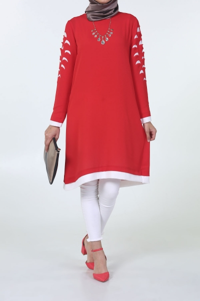 LASER CUTTING COLLECTED TUNIC