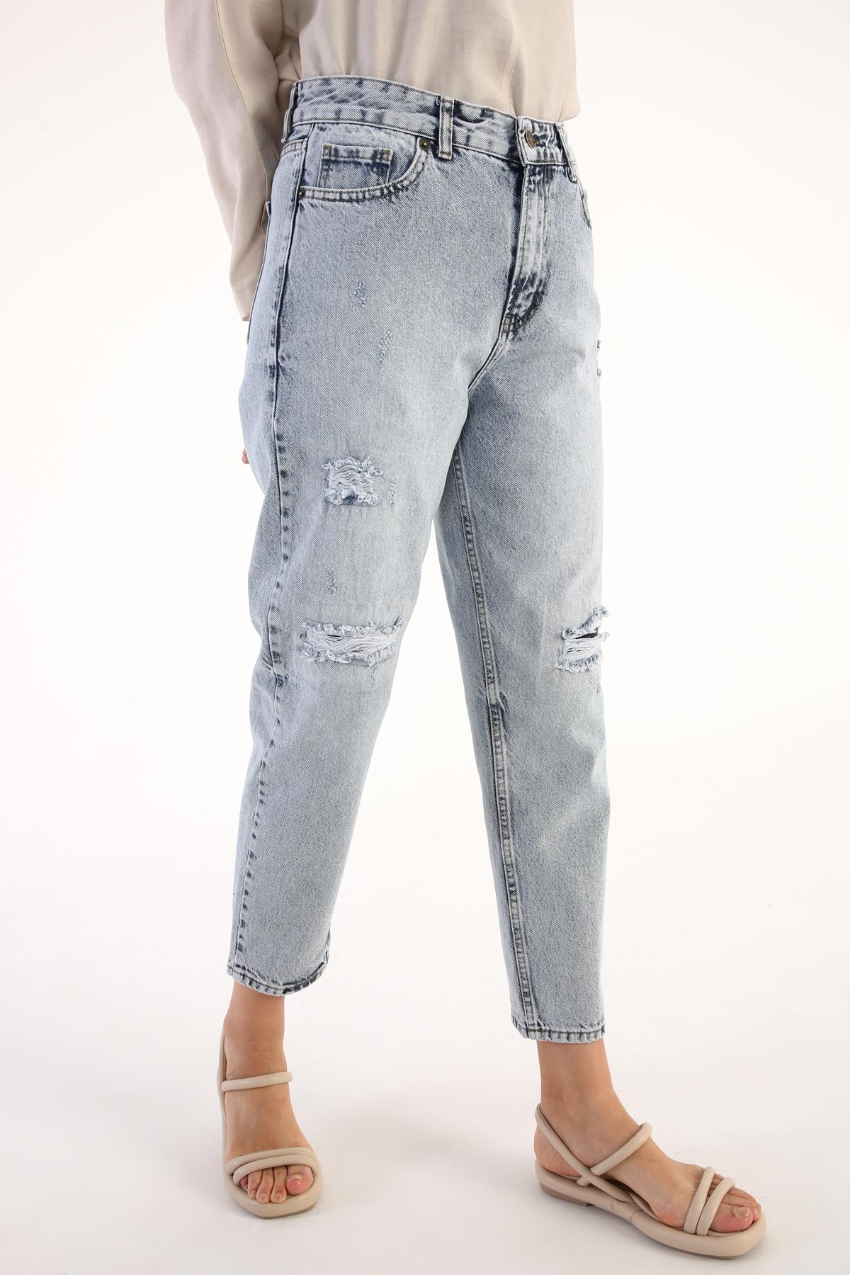 Hijab Denim Pants