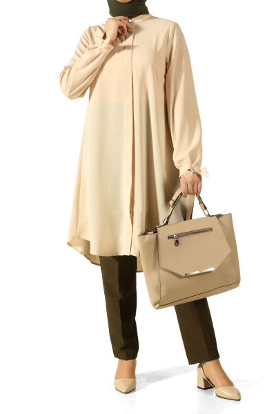 Flared Shirt Tunic