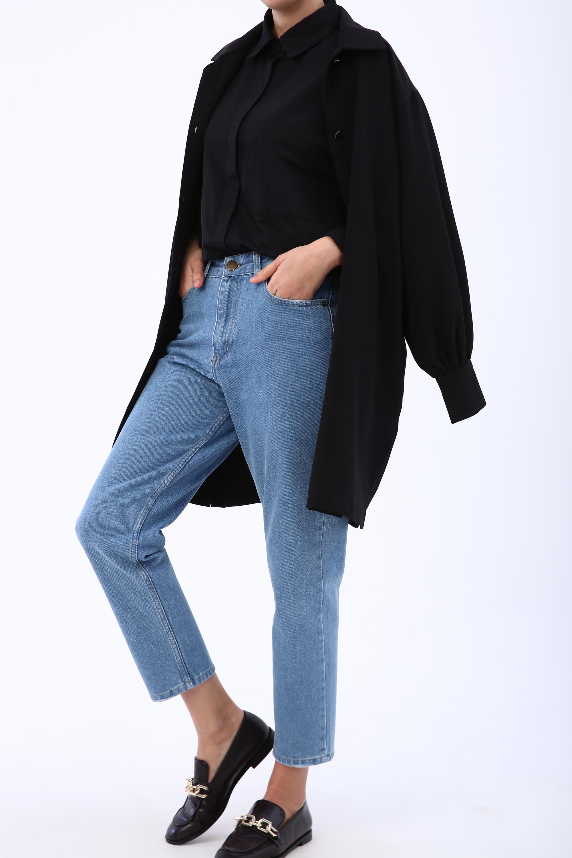 Natural Fabric Hijab Mom Pants