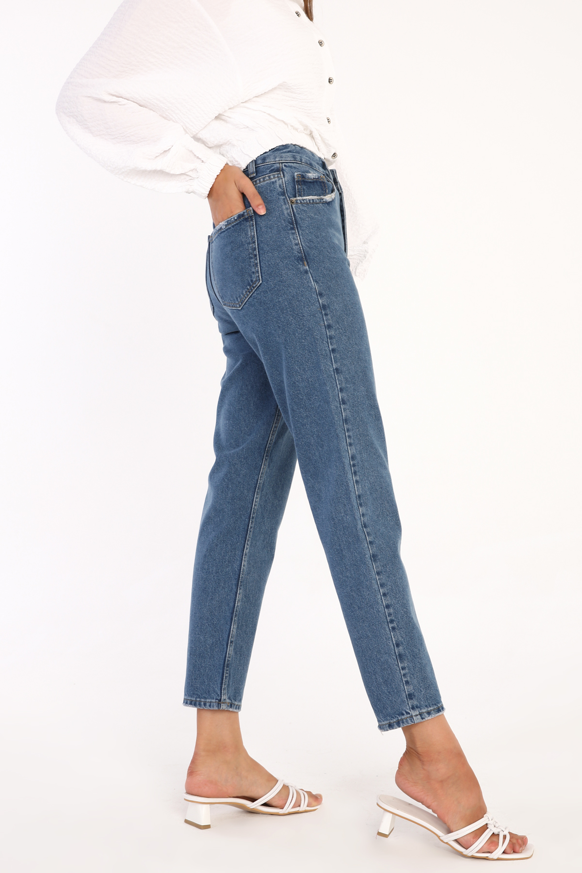 Comfy Jean Mom Pants