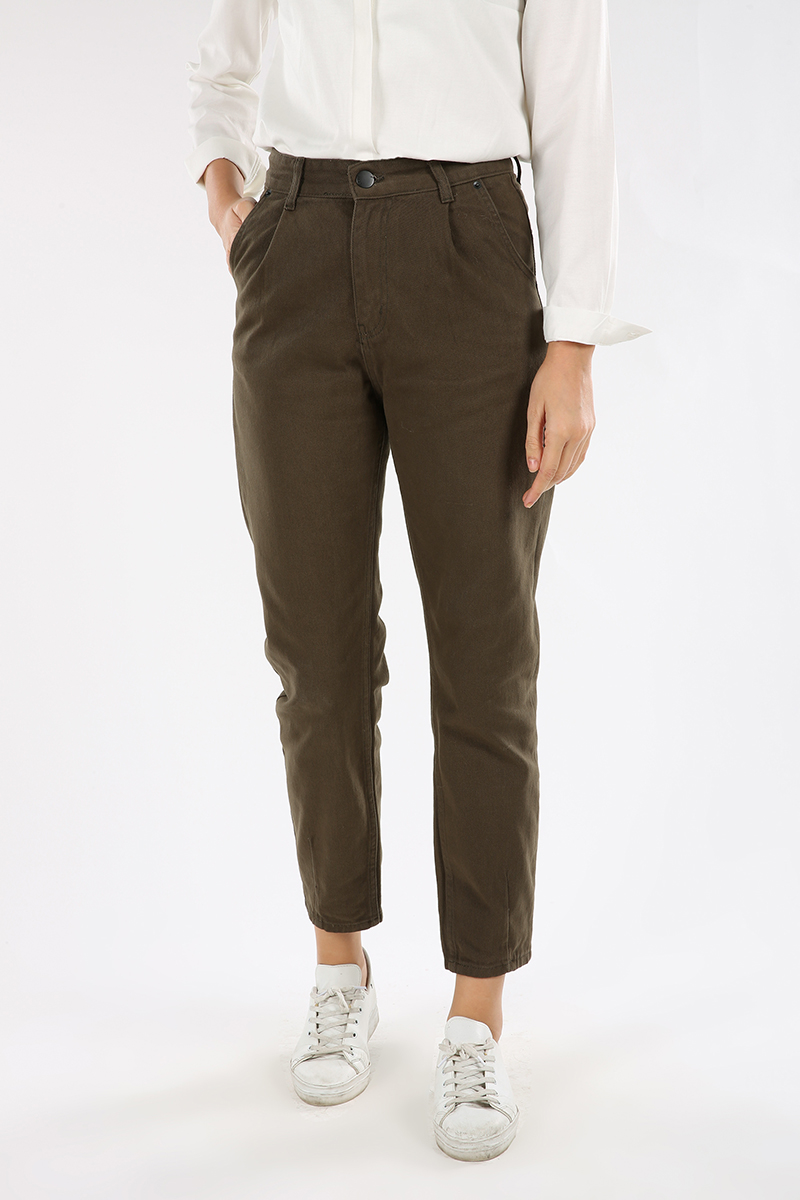 Hijab Pleated Mom Pants