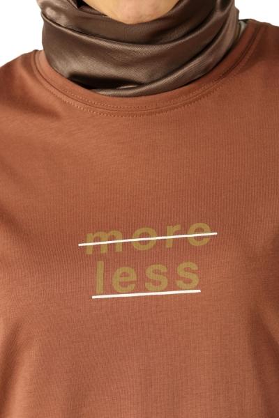 More Less Baskılı Penye Tunik