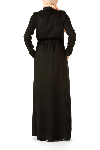 EMBROIDERED RUBBER TIRED DRESS