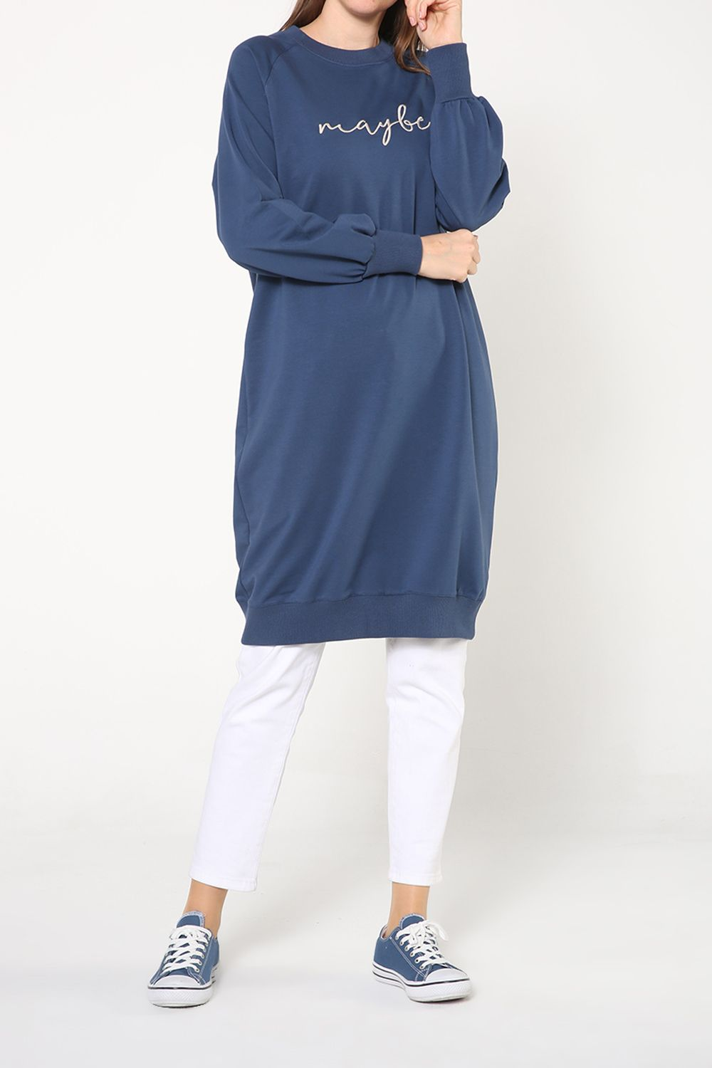 EMBROIDERED COMBED TUNIC