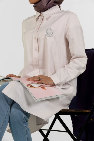 NON-BREADED EMBROIDERED TUNIC