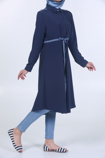 Shimmering Banded Tunic