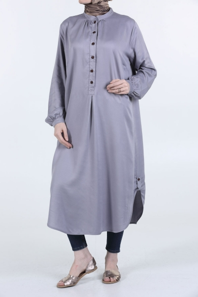 BUTTONS OVERSIZE TUNIC