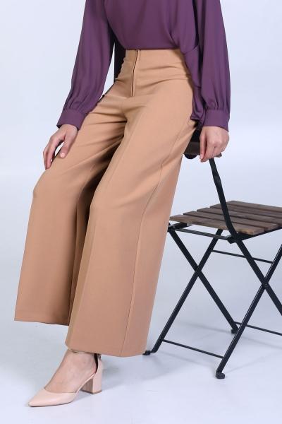 Gizlı Fermuarlı Pantolon