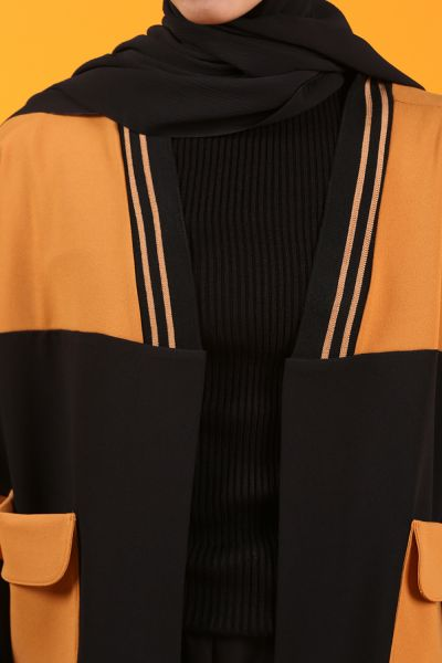 Cepli Önü Açık Ceket