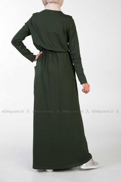 COMBED COTTON DRESS