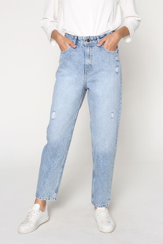 Mom Denim Pantolon